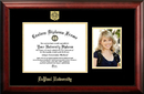 Campus Images IL974PGED-1185 DePaul University 11w x 8.5h Gold Embossed Diploma Frame with 5 x7 Portrait