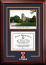 Campus Images IL976D University of Illinois - Urbana-Champaign Diplomate