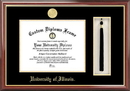 Campus Images IL976PMHGT University of Illinois - Urbana-Champaign Tassel Box and Diploma Frame