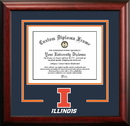Campus Images IL976SD University of Illinois - Urbana-Champaign Spirit Diploma Frame