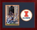 Campus Images IL976SLPFV University of Illinois - Urbana-Champaign Spirit Photo Frame (Vertical)