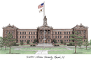 Campus Images IL978 Western Illinois University Campus Images Lithograph Print