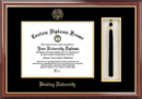 Campus Images IL999PMHGT Bradley University Tassel Box and Diploma Frame