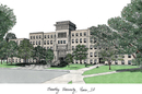 Campus Images IL999 Bradley University Campus Images Lithograph Print