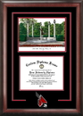 Campus Images IN985SG Ball State University Spirit  Graduate Frame with Campus Image