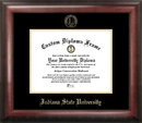 Campus Images IN986GED Indiana State  Gold Embossed Diploma Frame