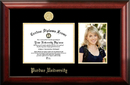 Campus Images IN988PGED-96257625 Purdue University 9.625w x 7.625h Gold Embossed Diploma Frame with 5 x7 Portrait