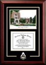 Campus Images IN988SG Purdue University  Spirit Graduate Frame with Campus Image