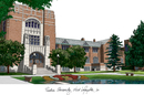 Campus Images IN988 Purdue University Campus Images Lithograph Print