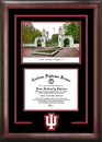 Campus Images IN993SG Indiana University - Bloomington  Spirit Graduate Frame with Campus Image