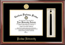 Campus Images IN998PMHGT Purdue University Tassel Box and Diploma Frame