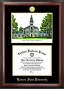 Campus Images KS998LGED Kansas State University Gold embossed diploma frame with Campus Images lithograph