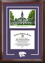 Campus Images KS998SG Kansas State University  Spirit Graduate Frame with Campus Image