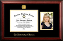 Campus Images KS999PGED-1185 University of Kansas 11w x 8.5h Gold Embossed Diploma Frame with 5 x7 Portrait
