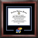 Campus Images KS999SD University of Kansas Spirit Diploma Frame