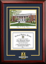 Campus Images KY984SG Murray State University Spirit Graduate Frame with Campus Image