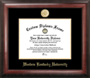 Campus Images KY996GED Western Kentucky University Gold Embossed Diploma Frame