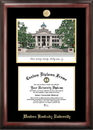 Campus Images KY996LGED Western Kentucky University Gold embossed diploma frame with Campus Images lithograph