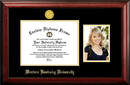 Campus Images KY996PGED-1185 Western Kentucky University 11w x 8.5h Gold Embossed Diploma Frame with 5 x7 Portrait