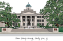 Campus Images KY996 Western Kentucky University Campus Images Lithograph Print