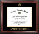 Campus Images KY997GED University of Louisville Gold Embossed Diploma Frame