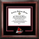Campus Images KY997SD University of Louisville Spirit Diploma Frame