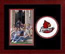 Campus Images KY997SLPFV University of Louisville Spirit Photo Frame (Vertical)