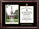 Campus Images KY998LGED University of Kentucky Gold embossed diploma frame with Campus Images lithograph