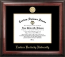 Campus Images KY999GED Eastern Kentucky University Gold Embossed Diploma Frame