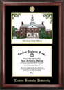 Campus Images KY999LGED Eastern Kentucky University Gold embossed diploma frame with Campus Images lithograph