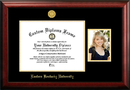 Campus Images KY999PGED-1512 Eastern Kentucky University 15w x 12h Gold Embossed Diploma Frame with 5 x7 Portrait