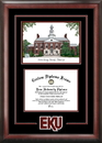 Campus Images KY999SG Eastern Kentucky University Spirit Graduate Diploma Frame