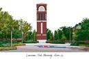 Campus Images LA988 Louisiana Tech University Campus Images Lithograph Print