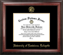 Campus Images LA993GED University of Louisiana-Lafayette Gold Embossed Diploma Frame