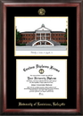 Campus Images LA993LGED University of Louisiana-Lafayette Gold embossed diploma frame with Campus Images lithograph