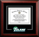 Campus Images LA995SD Tulane University Spirit Diploma Frame