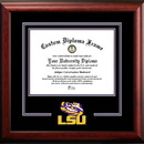 Campus Images LA999SD Louisiana State University Spirit Diploma Frame