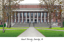 Campus Images MA992 Harvard University Campus Images Lithograph Print