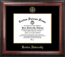 Campus Images MA993GED Boston University Gold Embossed Diploma Frame