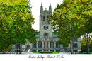 Campus Images MA994 Boston College Campus Images Lithograph Print