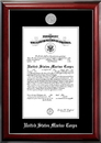 Campus Images MACCL002 Patriot Frames Marine 10x14 Certificate Classic Mahogany Frame with Silver Medallion