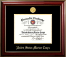 Campus Images MADCL001 Patriot Frames Marine 8.5x11 Discharge Classic Frame with Gold Medallion