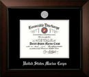 Campus Images MADLG002 Patriot Frames Marine 8.5x11 Discharge Legacy Frame with Silver Medallion