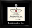 Campus Images MADS002 Marine Corp Discharge Frame Silver Medallion
