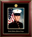 Campus Images MAPCL001 Patriot Frames Marine 8x10 Portrait Classic Frame with Gold Medallion