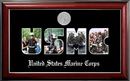 Campus Images MASSCL002S Patriot Frames Marine Collage Photo Classic Frame with Silver Medallion