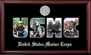Campus Images MASSPT002S Patriot Frames Marine Collage Photo Petite Frame with Silver Medallion