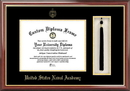 Campus Images MD997PMHGT United States Naval Academy Tassel Box and Diploma Frame