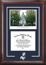 Campus Images MD997SG United States Naval Academy Spirit  Graduate Frame with Campus Image
