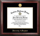 Campus Images MD998GED University of Maryland Gold Embossed Diploma Frame